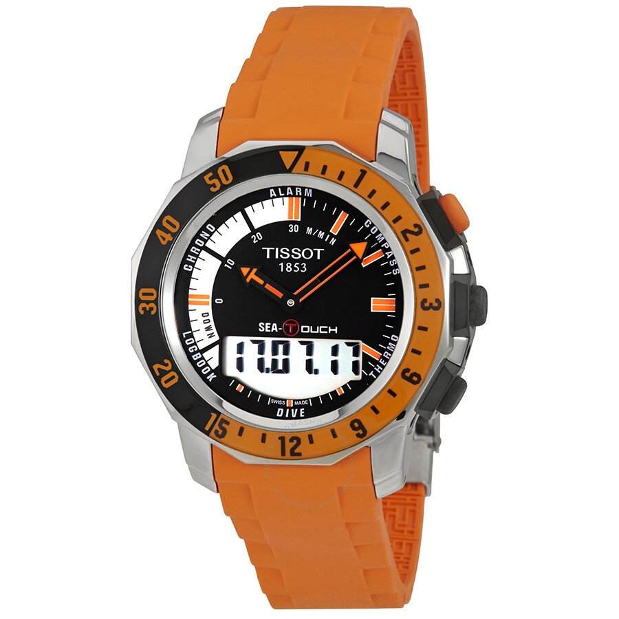 tissot t touch sea touch men s watch t026 420 17 281 02 sea touch rh jomashop com T-Touch Expert Titanium tissot sailing touch user manual