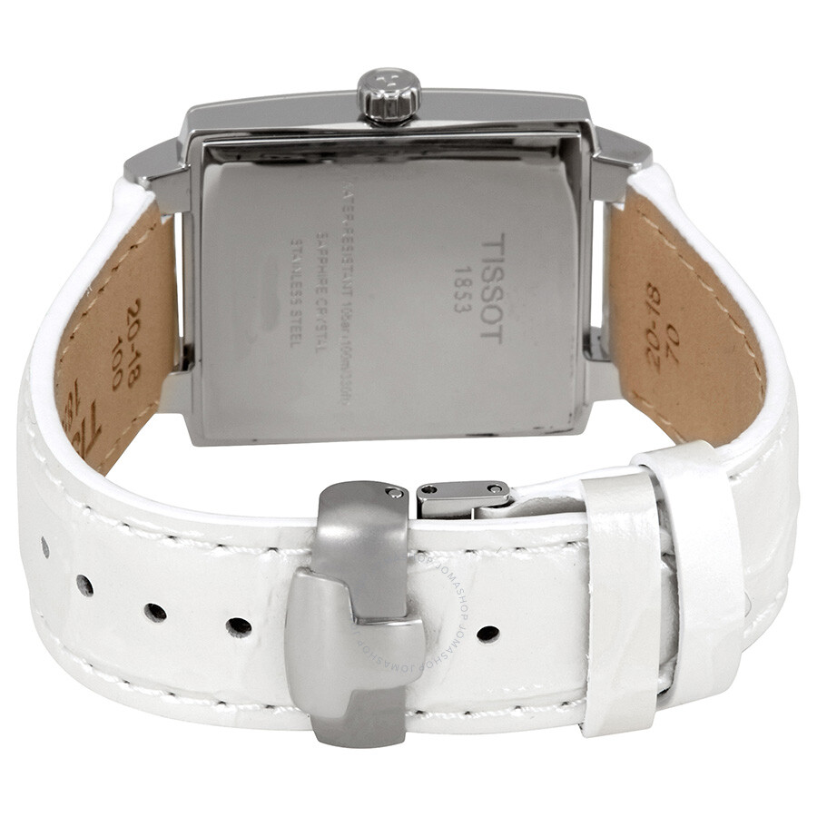 Watches Simplify Women39s Alpine Green Products T Tissot Race Ladies T0482171701700 Trend Txl White Dial Leather Watch T0613101603100