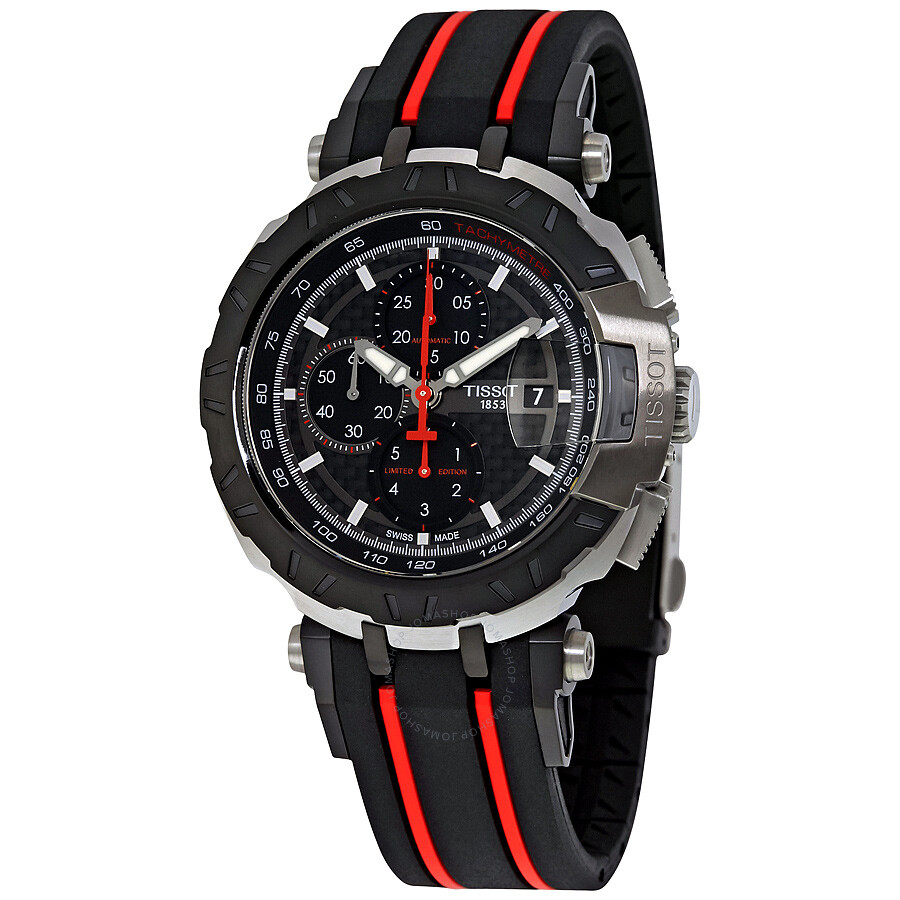 tissot t race moto gp chronograph automatic men 39 s watch. Black Bedroom Furniture Sets. Home Design Ideas
