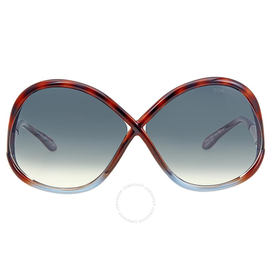 Tom Ford Sonnenbrille Ivanna (64 mm) havana KEnX0AkV8