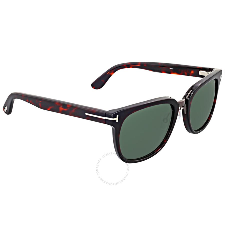 Tom Ford Rock Dark Havana Sunglasses - Tom Ford - Sunglasses - Jomashop