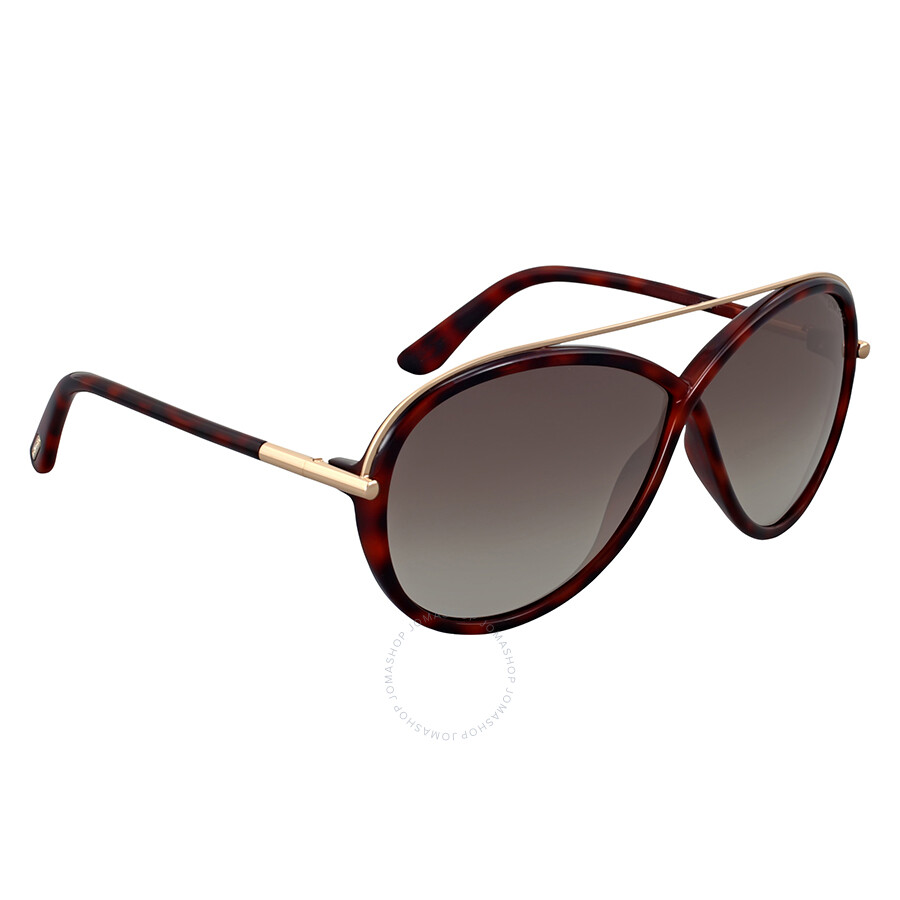 Tom Ford Sonnenbrille FT0454_52K (64 mm) Marrón, 64
