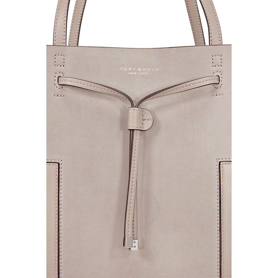 e8268081165 ... get tory burch block t grommet bucket tote french gray 08ed4 02189