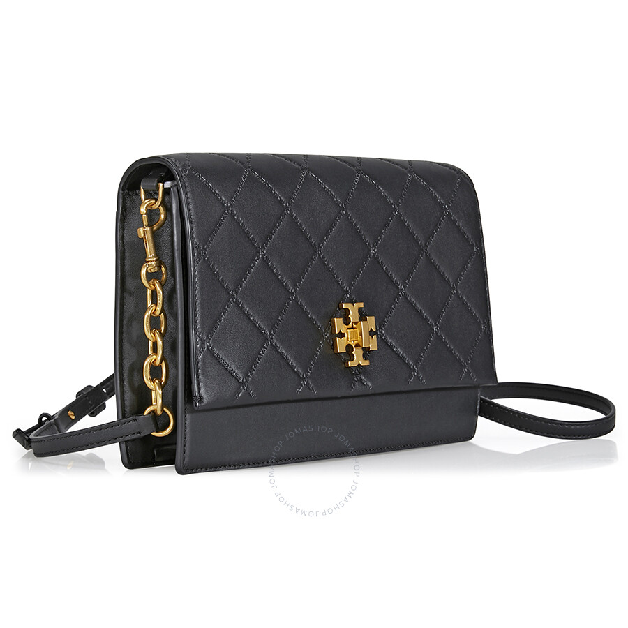 Tory Burch Georgia Leather Crossbody Black