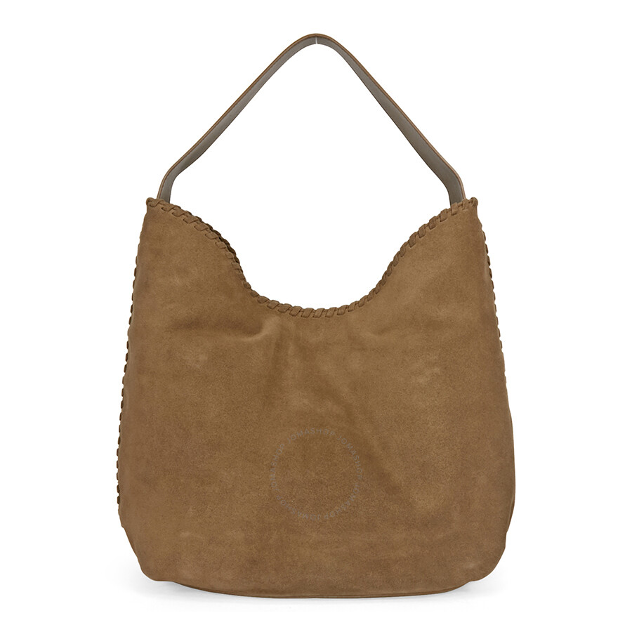 Tory Burch Marion Suede Hobo Bag River Rock