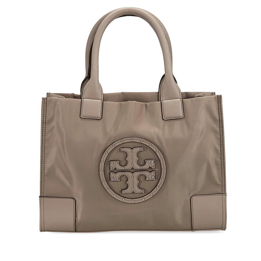 1df24ea362ee ... leather canvas tote handbag french gray 40076 0817 613e6 f222c   aliexpress tory burch mini ella stud logo tote french grey 47961 f6521