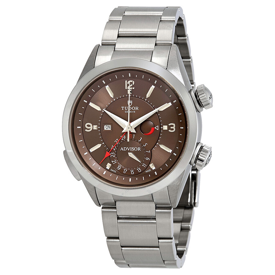 Tudor Heritage Advisor Automatic Mens Watch 79620TC-BRSS