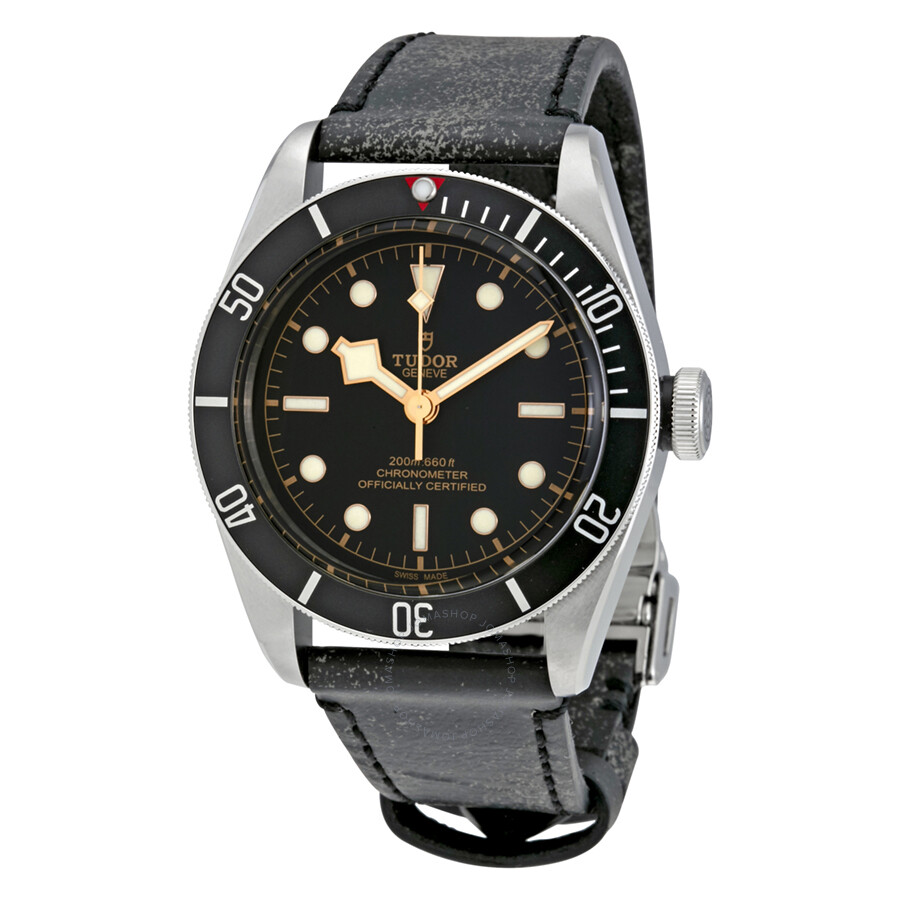 Tudor Heritage Automatic Black Dial Mens Watch 79230N-BKLS