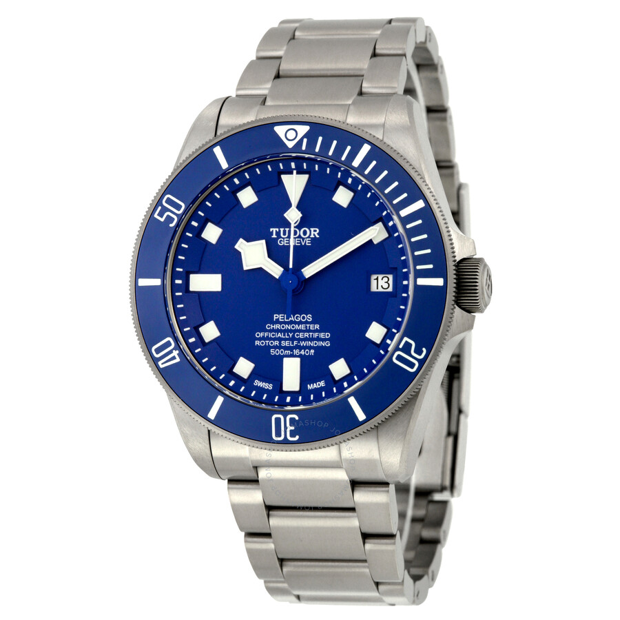 Tudor Pelagos Chronometer Automatic Blue Dial Mens Watch 25600TB