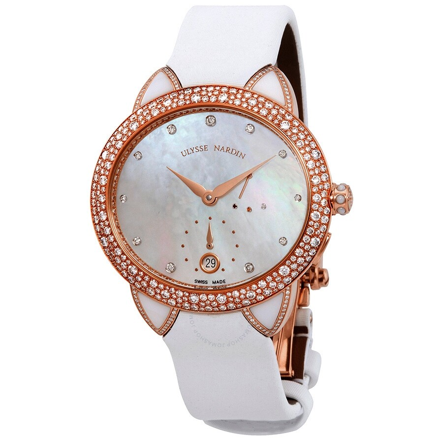 Ulysse Nardin Jade Automatic Diamond Ladies Watch 3106125BC/991