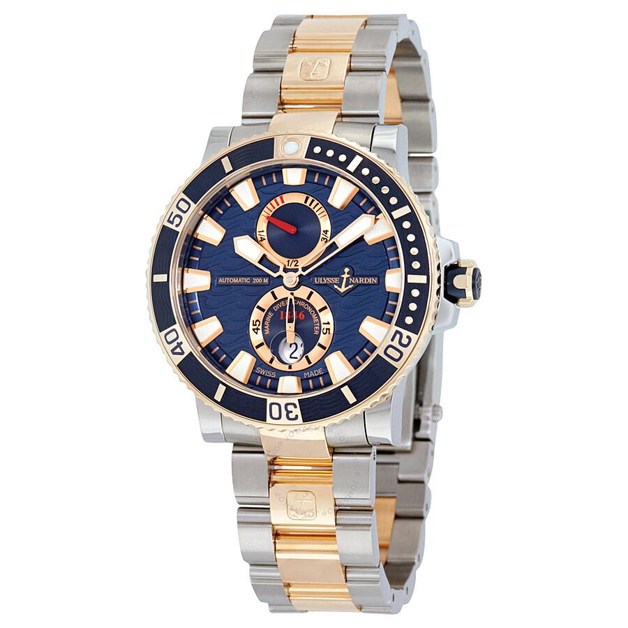 Ulysse Nardin Maxi Diver Mens Watch 265-90-8M/93