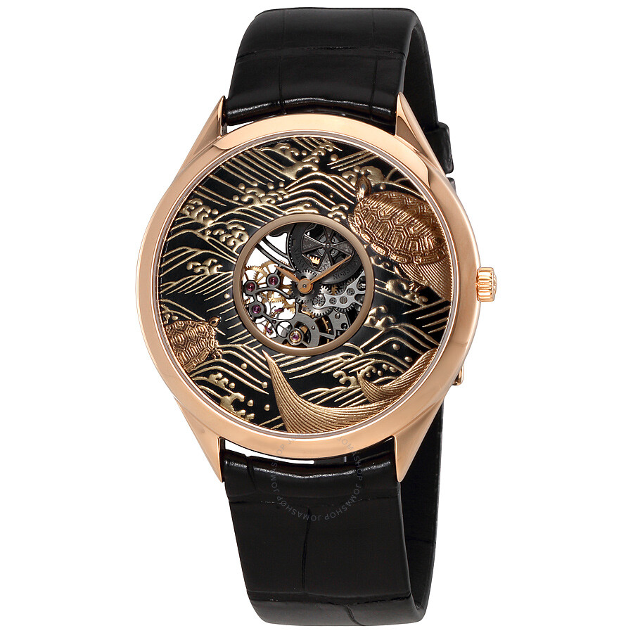 golden trending watches men luxury white products gold niche product styles watch s hollow image crane different