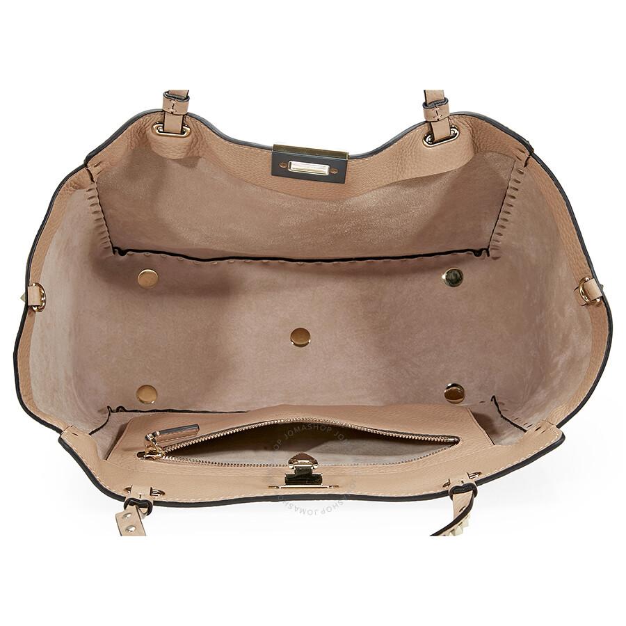 acc9656dcc7d4 Valentino Rockstud Medium Pebbled Tote Bag - Best Model Bag 2018