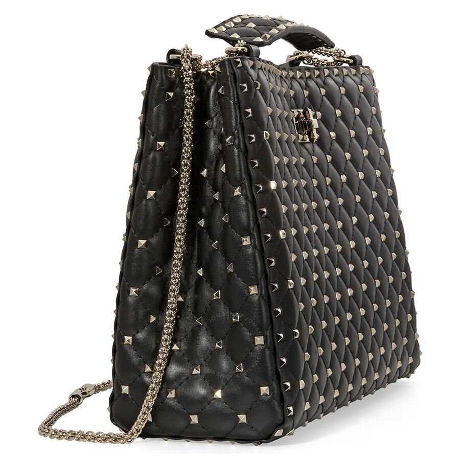 lg handbags quilt leather black bag michael loading chain zoom shldr kors sloan large quilted shoulder