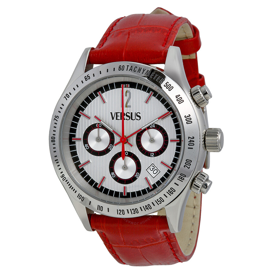 mikkel watch black watches tachymeter gb mens larsen red silicone lars s men