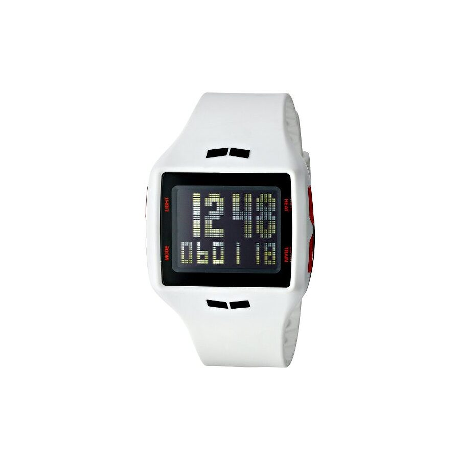 Vestal Helm Surf and Train White and Red Digital Unisex Watch HLMDP15