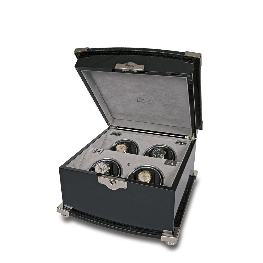 Rapport London Serpentine Quad Watch Winder