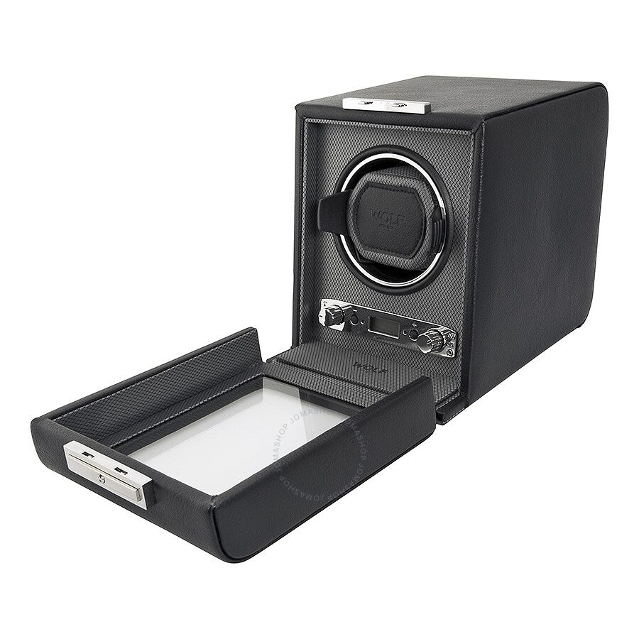 wolf viceroy module 2 7 single watch winder 456002 watch winders