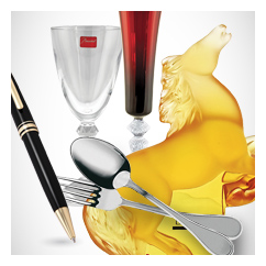 Shop Fine Gifts, Pens, Crystal, Dinnerware